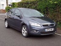 2010 Ford Focus 1.6 TDCi Zetec with 53,000 Miles with History, and New MOT, Alloys, CD Player
