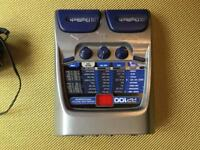 Digitech RP100 multieffects effects pedal with psi and box