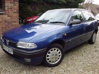 1996 Astra 1600, Metallic Blue