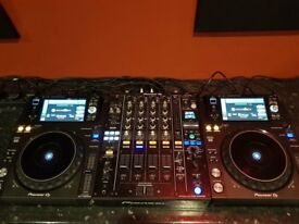 Pioneer XDJ 1000 Mk2 x2 & DJM 900 NXS 2