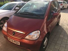 2000 Mercedes Benz A Class A160 Elegance Automatic 5 Door Hatchback