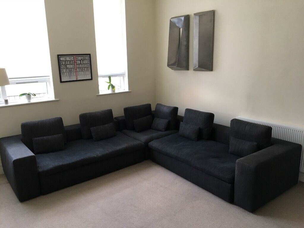 Remarkable Habitat Sidney Sofa With Sofa Bed Modular Furniture Charcoal Rrp 4 595 In Hackney London Gumtree Gmtry Best Dining Table And Chair Ideas Images Gmtryco