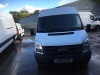ford transit mwb fridge van.2010.new mot.1 owner from new.ready for work