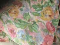 FLORAL FABRIC 4 metres x 1700mm wide
