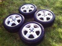 Full set of wheels + tyres, £120 ono
