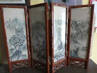 Chinese minature screen divider