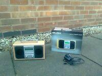 BUSH digital DAB and FM stereo radio, almost new.