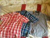 Mens shirt bundle size M