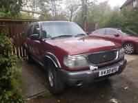Ford exolorer v6 4lr lpg 2000