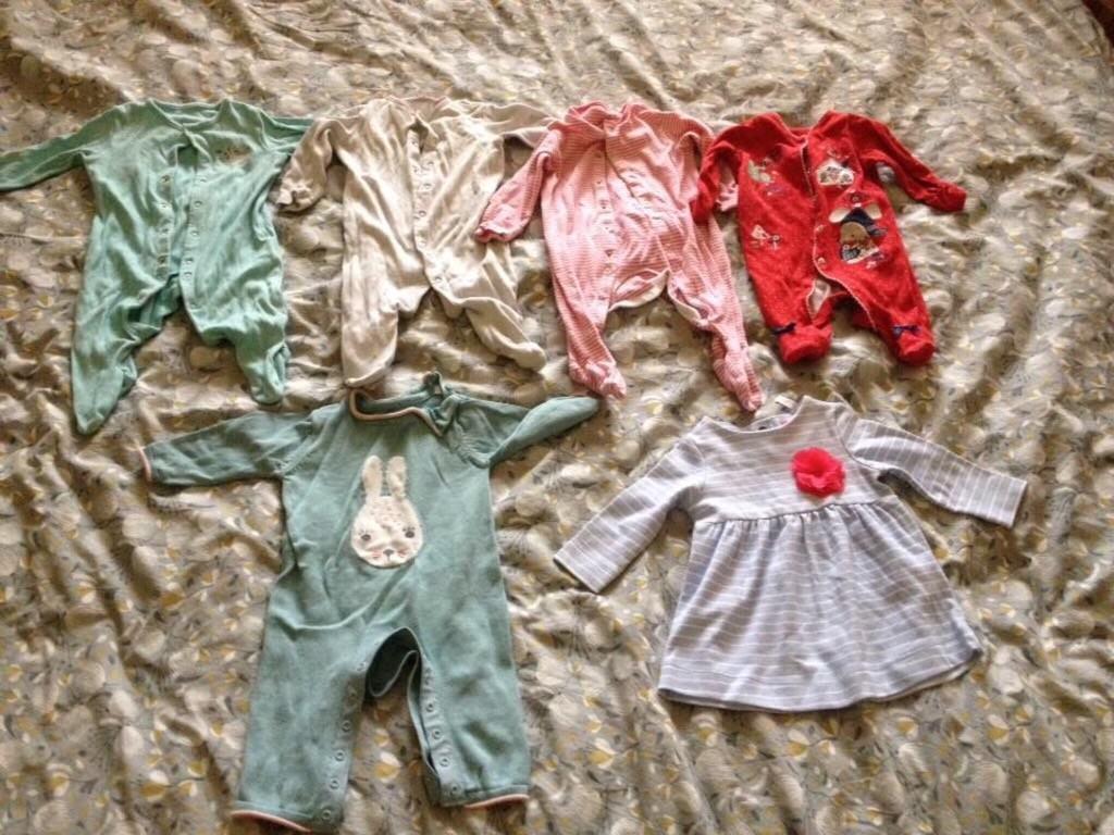 0-3 small bundle - girls