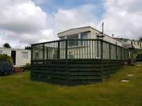 Cosy holiday mobile home to hire