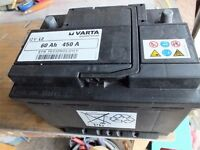 Car Battery - Varta 12v L2 EFB for stop start motors. 60AH 450A. Size 239 (L)x172 (W)x187(H) mm