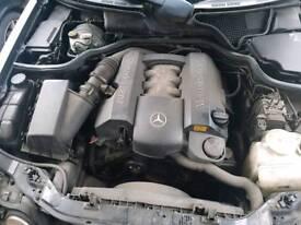 Mercedes W210 E class w202 C class E240 C240 v6 engine cover