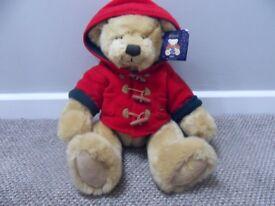 """Harrods 2003 Christmas Teddy Bear 13"""" Xmas bear - £25.00 - Collection only Stourbridge DY8 4 area"""