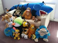Selection of Soft Toys/Teddies/Teddy Bears