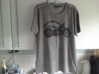 Genuine black label Harley Davidson t shirt