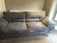 2 x Designer Sofas 1 x 3 seater and 1 x 2 seater