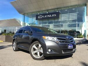2015 Toyota Venza 3owners Lthr AWD Btooth Sroof BUcam