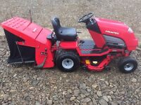 Countax C300H 2012 Ride On Lawn Mower Tractor Sweeper & Roller Honda 13HP Engine