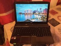 Acer Aspire 5735 # 250Gb Storage # 3Gb Ram # Windows 7