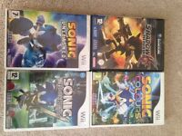 Sonic and Shadow Wii Games