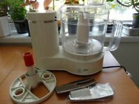 Food processor Braun in perfect condition,