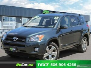 2012 Toyota RAV4 Sport V6 4X4 | REDUCED | SUNROOF | BLUETOOTH