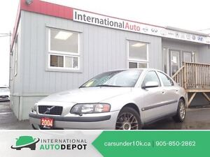 2004 Volvo S60 2.4 | ONLY 77K! | LEATHER | 2 SETS OF TIRES