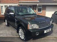 2005 RANGE ROVER VOGUE 4.2 V8 SC AUTO PETROL SUPERCHARGED - ONLY 75,000 MILES!!!