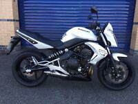 2011 kawasaki er6n cbf only 1,200 miles & one lady owner immaculate