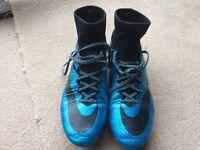Nike Supefly IV soft ground football boots UK 7.5