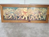 Large Pine Teddybear Picture