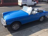 MG Midget 1500 looking for a new home. I am in fantastic condition and a great runner.