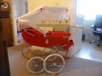 Childs Silver Cross Dolls Pram