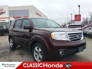 2015 Honda Pilot EX-L | DVD | LEATHER | ONE OWNER | REAR CAM |