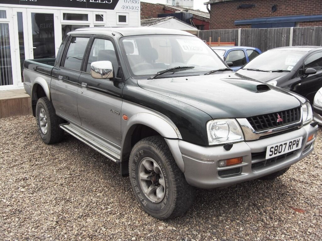 mitsubishi l200 4x4 2 5 tdi 1999 full mot in lowestoft suffolk gumtree. Black Bedroom Furniture Sets. Home Design Ideas