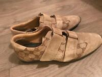 Excellent Condition Suede Men's GUCCI Shoes-size 7.5
