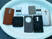 LG G4 Parts Spares Wireless Charging Cases Battery x2
