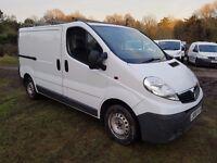 Vauxhall Vivaro 2.0 CDTi 2700 Panel Van 4dr (EU4, SWB) Low Miles , No Vat , Same As Trafic