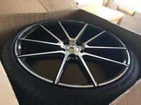 Volkswagen alloys. STUTGART st-9. Brand new with Pirelli p zero tyres Golf r. Golf