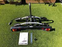 Thule 9502 2 Bike Carrier Rack Tow Bar + Lock