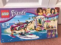 Lego friends Andreas speedboat