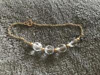 Handmade bracelet - gold plated