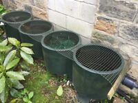 4 Chamber pond filter system, UV clarifier, pump, plants and snails for sale