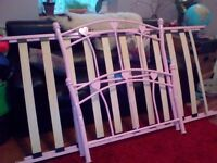 Single girls bed frame