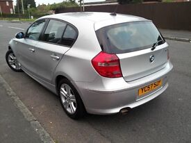 2007 BMW 1 Series 118D SE Only £30 tax year!! Grab a bargain today!!
