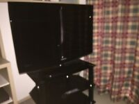 "Samsung 32"" LCD TV plus stand"