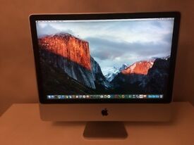 "Apple iMac A1225 24"" AIO Desktop - with 512GB Solid State HDD"