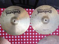 "13"" Rockwood Hi Hats in excellent condition"