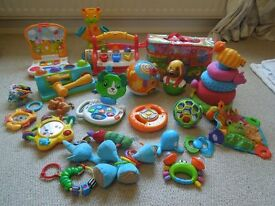 Large selection of baby toys in great condition